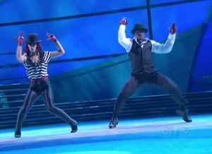 Brandon and Janette SYTYCD Jazz Top 12