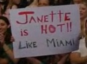 Janette is Hot!! like Miami