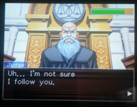 Phoenix Wright Mr. Judge
