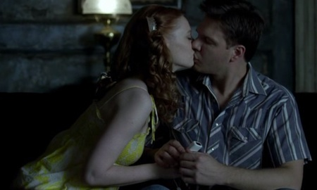 True Blood Jessica and Hoyt Kiss