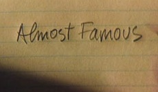 Almost Famous Title Screen