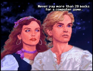 Guybrush and Elane Never Pay More Than 20 Bucks