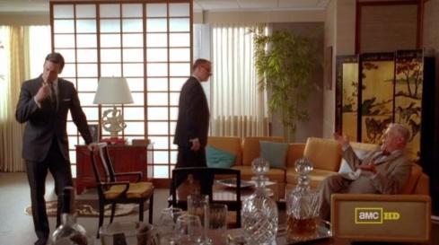 Mad Men Bert's Office Framing