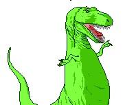 Oh My God It's A Dinosaur!