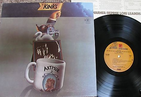 The Kinks - Aurthur Record