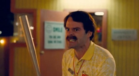 Adventureland Bill Hader Baseball Bat