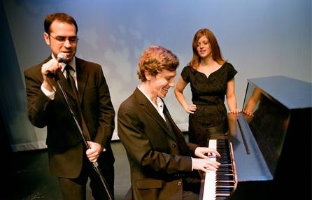 Dan, Kirk and Lindsay