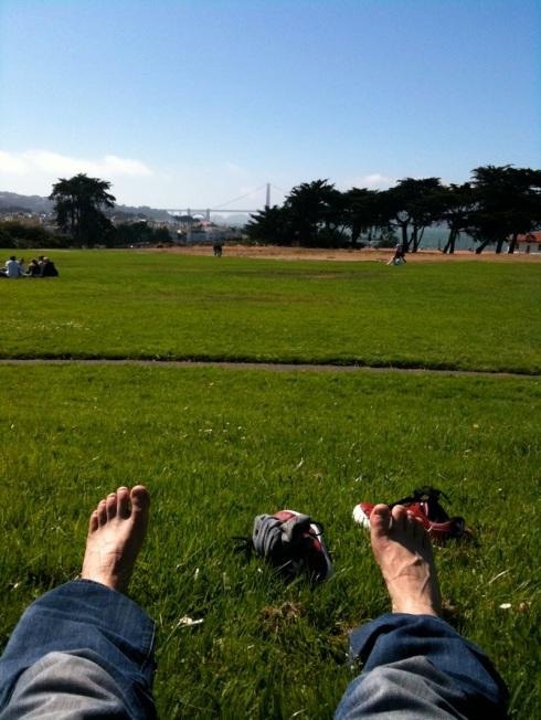 Feet In The Presidio